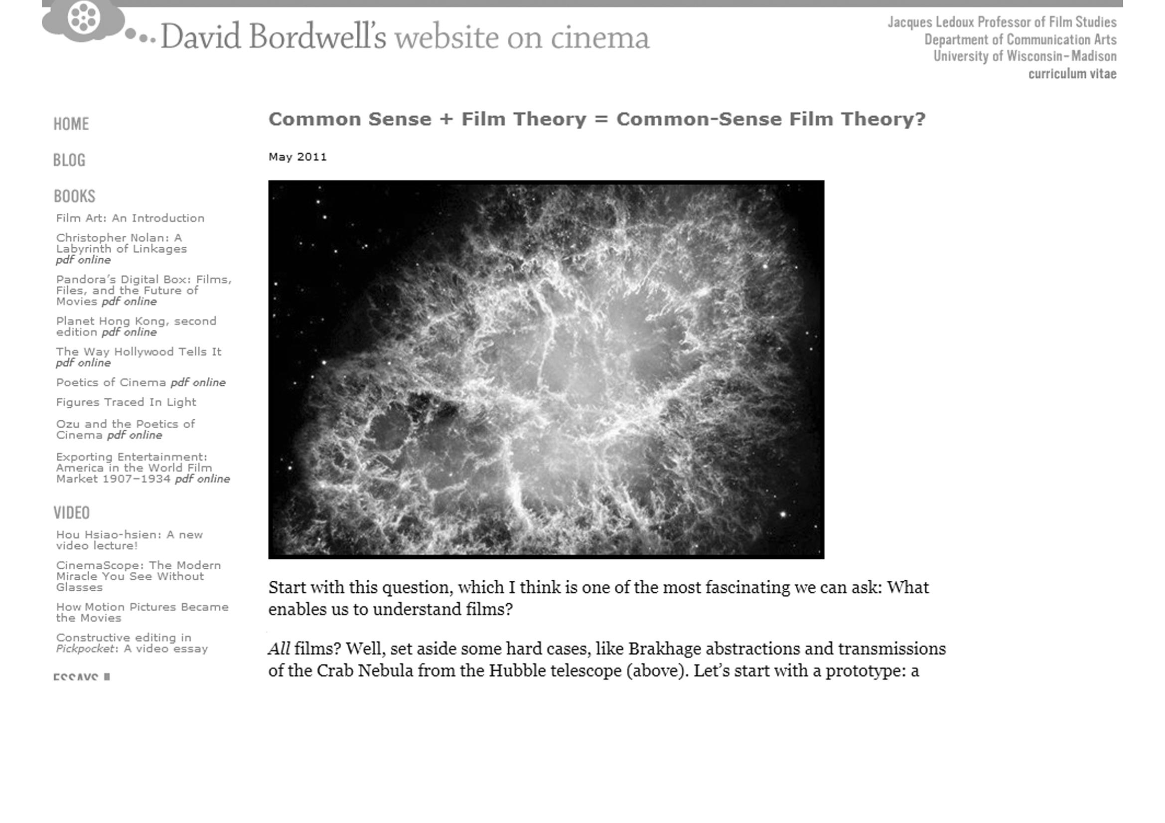 David Bordwell Pdf